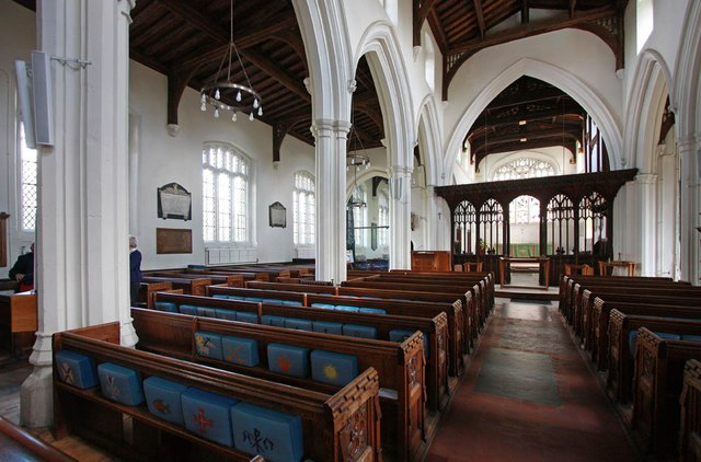 St Michael, Bishops Stortford - Interior
