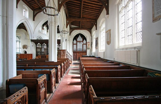 St Michael, Bishops Stortford - South aisle