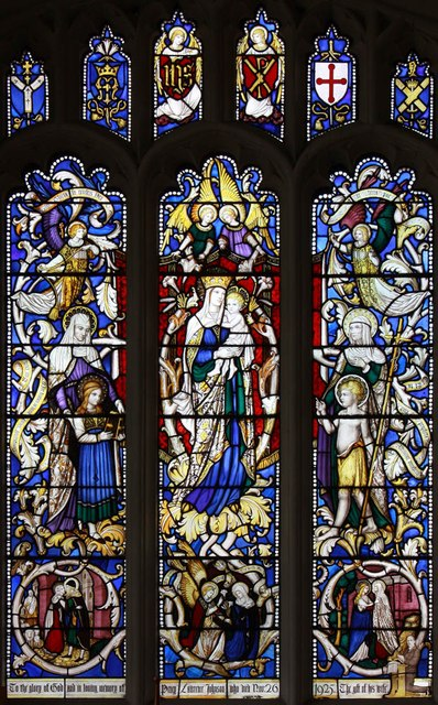 St Michael, Bishops Stortford - Stained glass window