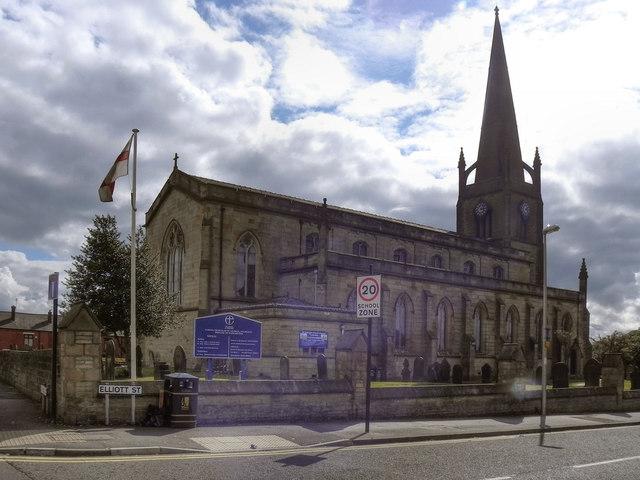 St George's  Parish Church, Tyldesley