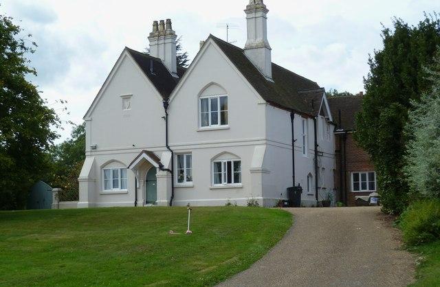 The house at Holdhurst Farm