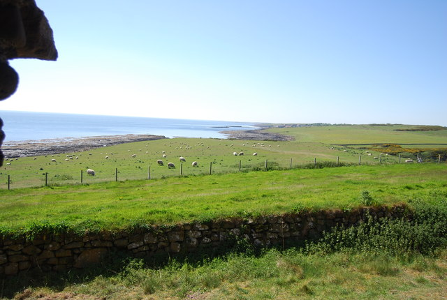View south from Dunstanburgh Castle