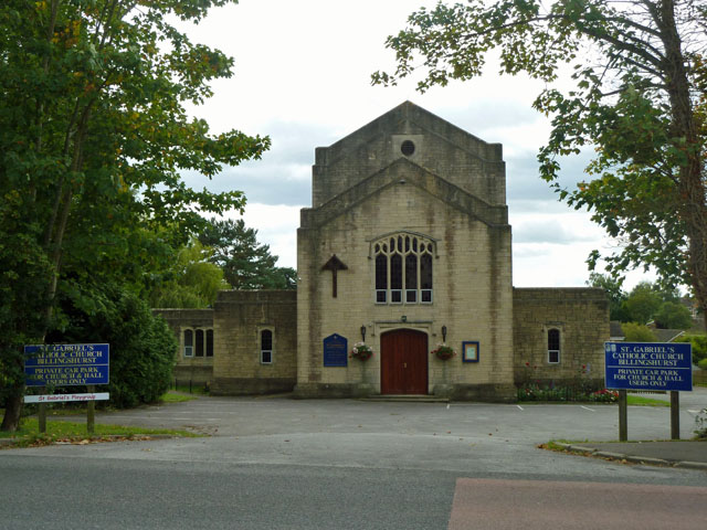 St Gabriel's Catholic church, Billingshurst