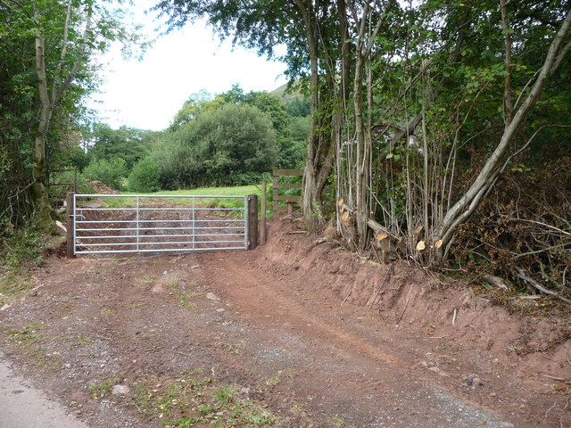 Gate and stile near Llanthony