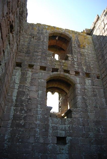 Dunstanburgh Castle - windows