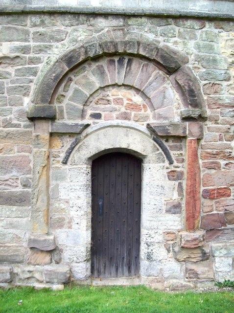 Saxon Doorway,  Laughton en le Morthen