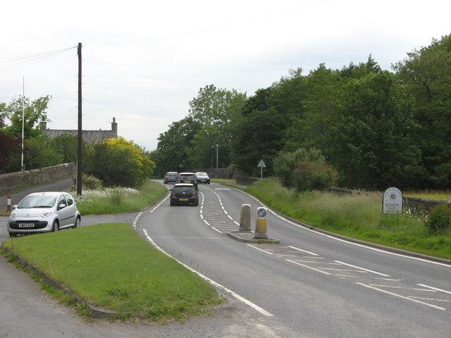 A65 North at Cowan Bridge