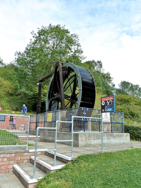 Overshot Waterwheel, Hereford Waterworks Museum