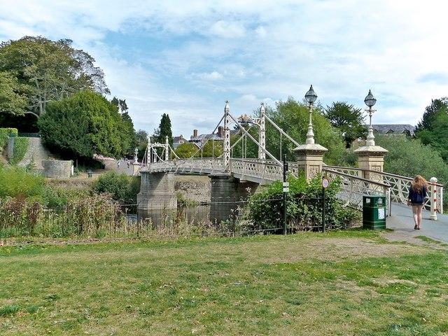 Victoria Footbridge, Hereford