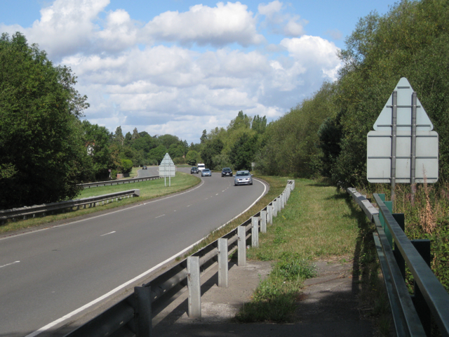 A452 Kenilworth Road crosses the river Blythe