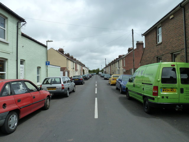 Looking from  Whitworth Road into Zetland Road