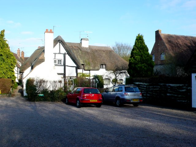 Old Houses Shottery