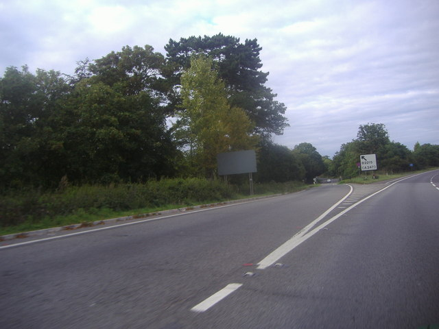Ripley exit on the A3