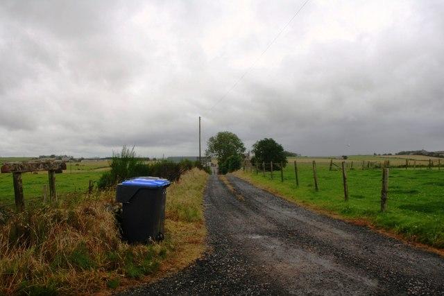 Tillyfour Access Road