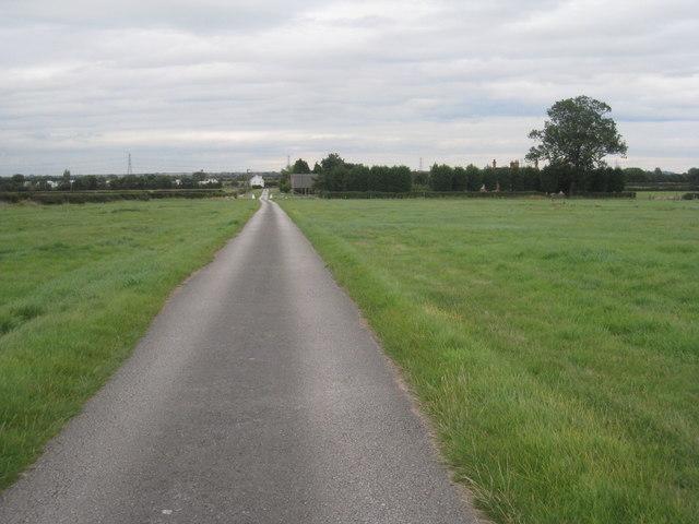 Roadway to Hall Farm
