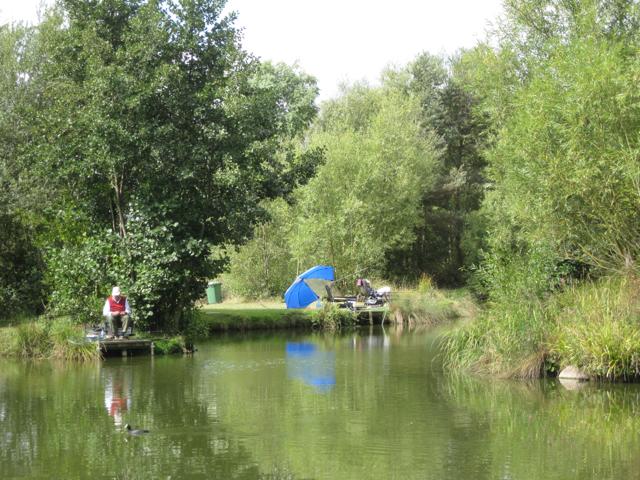 'Anniversaries' fishing lake, Packington Somers