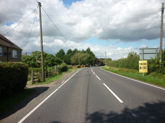 The A153 at Tumby