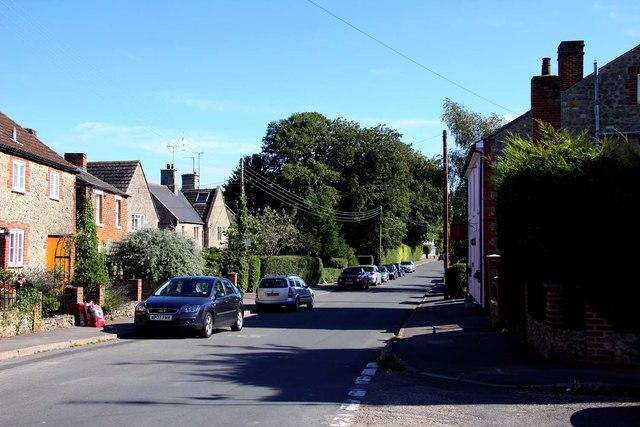 High Street in Watchfield