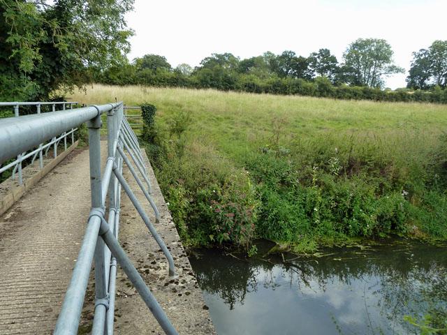 Bridleway bridge over River Arun