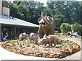 TG1017 : A family group at Dinosaur Adventure by Elliott Simpson