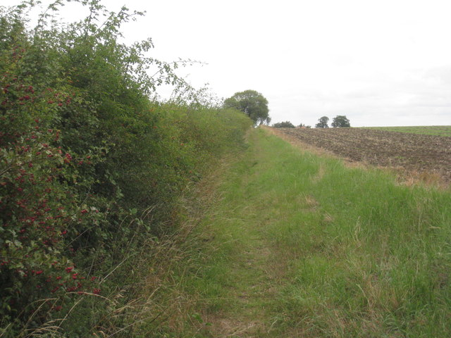 Bridleway to Swinderby Road