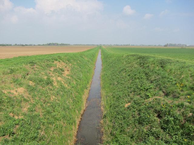 Ditch near Rutlands Farm