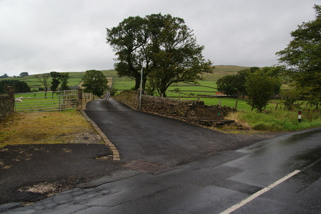 The entrance to New House Farm