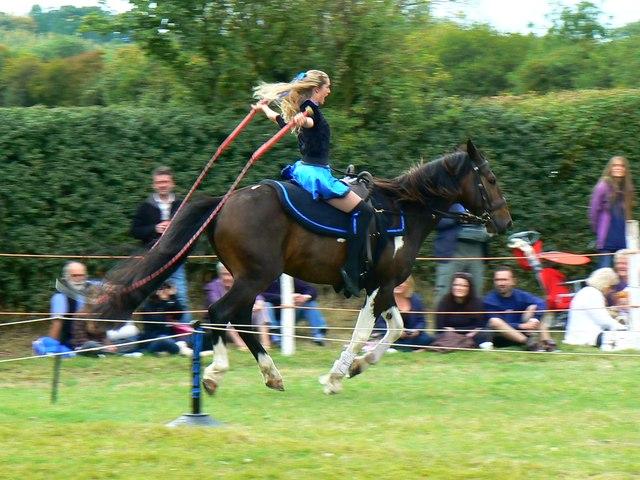 Jive-Pony at the White Horse Show, Uffington 2011 (4 of 4)