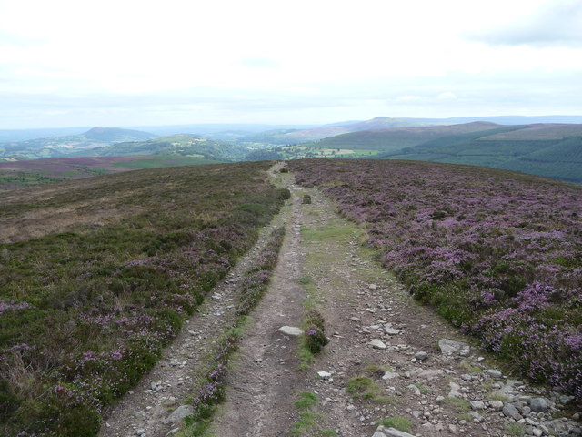Path down Bal-Mawr