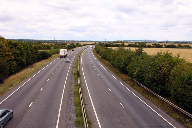 The A34 to Oxford