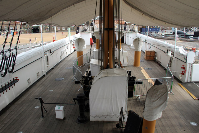 Inside HMS Gannet, Chatham Historic Dockyard, Kent