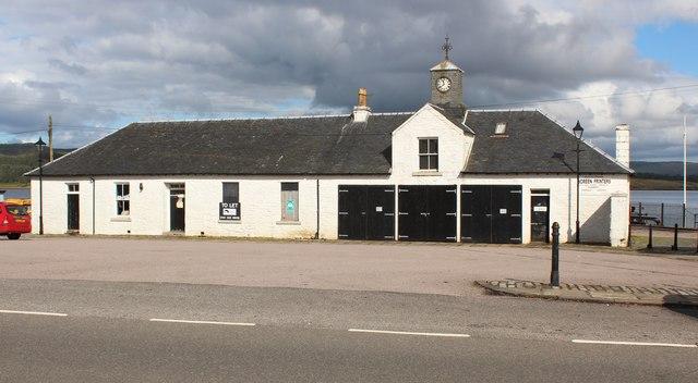 Ardrishaig pier ticket office