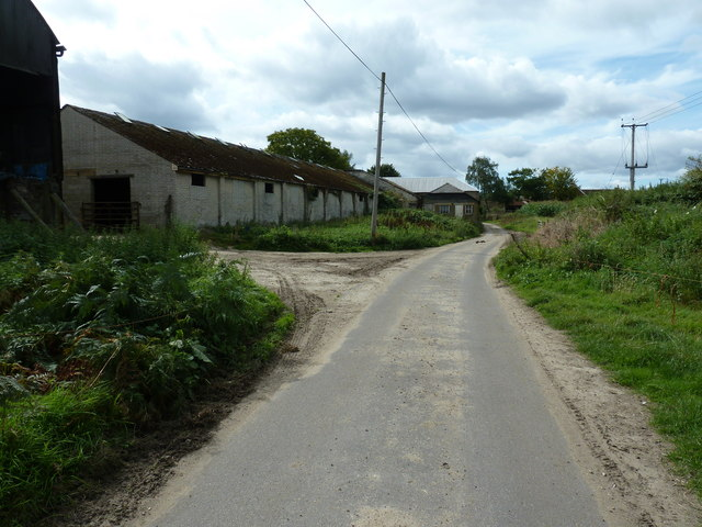Buildings at Minsted Farm