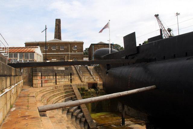 HM Submarine Ocelot, Chatham Historic Dockyard, Kent