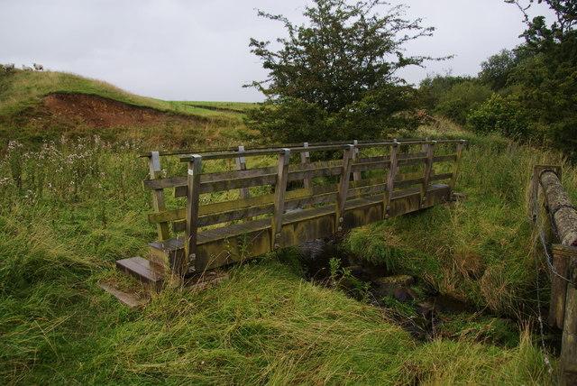 Footbridge over High Laith Beck