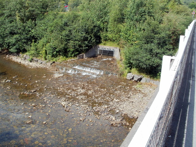 Outlet into the River Neath near Glynneath