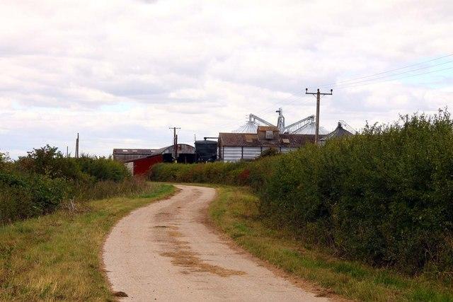 Bridleway to Manor Farm
