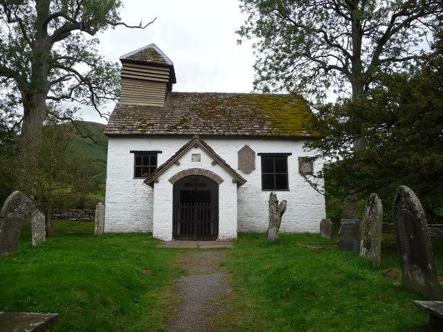 Chapel at Capel-y-ffin