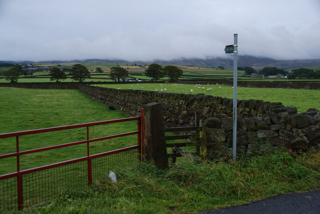 Footpath towards Wycoller