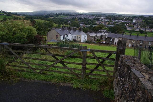 Hillside below Winewall