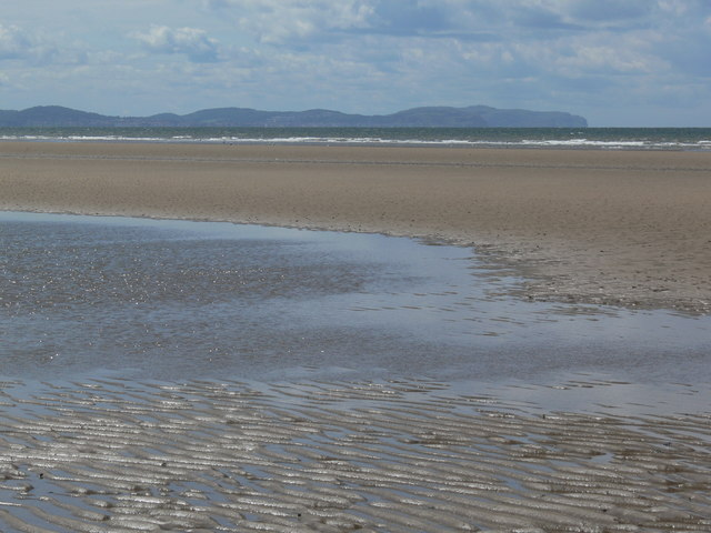 Low tide at Kinmel Bay