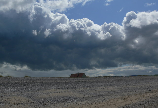 Clouds over Kinmel Bay