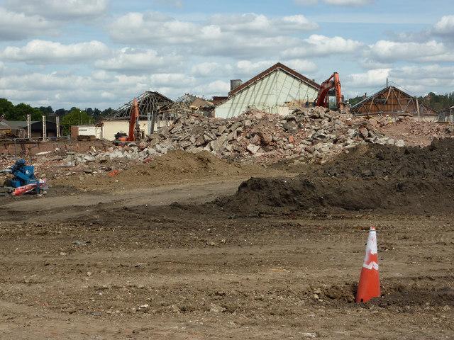 E2V demolition