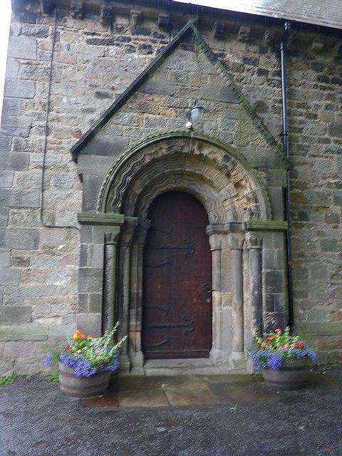 Kirk Merrington Parish Church, St John the Evangelist, Doorway