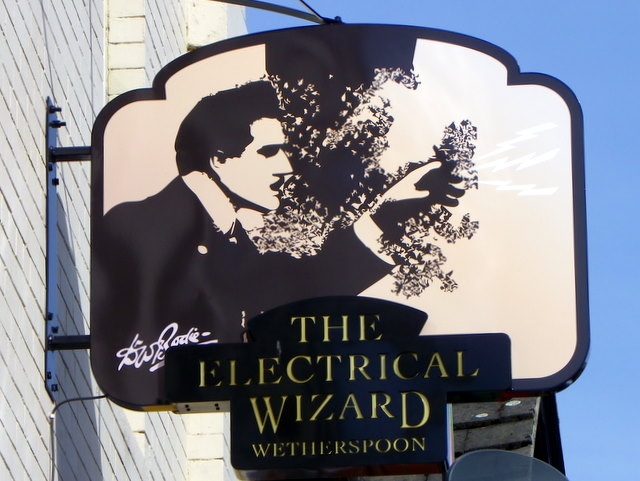 Sign for the Electrical Wizard