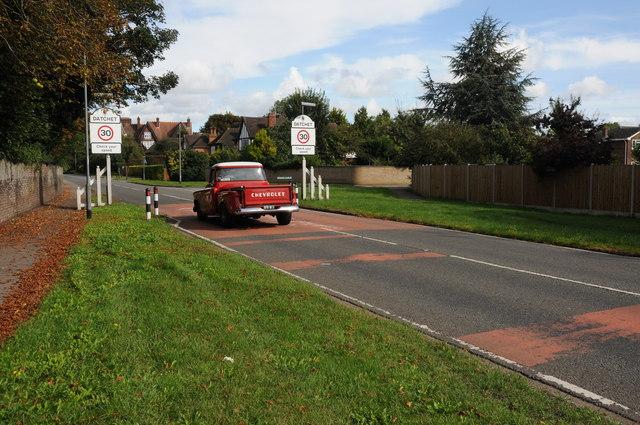 Chevrolet enter Datchet