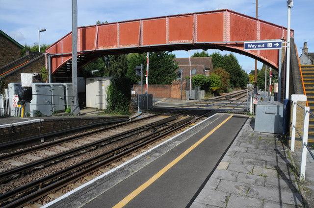 Footbridge, Datchet Station