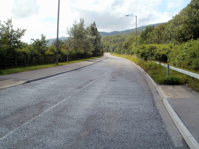 B road to Resolven from Glynneath