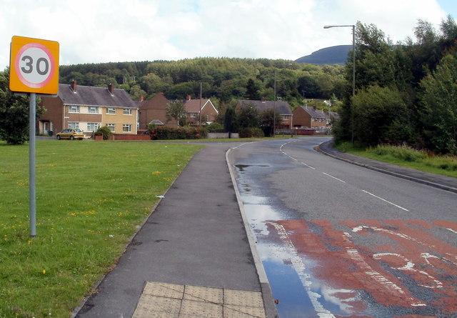 Chain Road houses, Glynneath