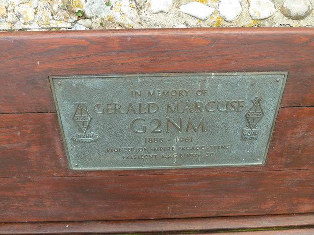 Memorial to a radio pioneer